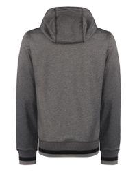Bench | Gray Crosskey Plain Zip-thru Hoodie for Men | Lyst