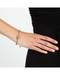 John Lewis | Metallic Ball And Glass Pave Bracelet | Lyst
