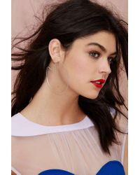 Nasty Gal | Multicolor All Clear Lucite Earrings | Lyst