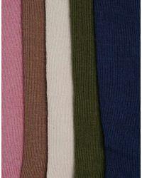 ASOS | Multicolor Socks 5 Pack | Lyst