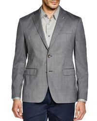 Michael Kors - Gray Trop Wool Regular Fit Blazer for Men - Lyst