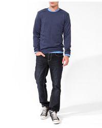 Forever 21 | Blue Shoulder Patch Sweater for Men | Lyst
