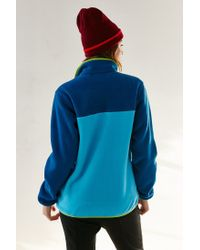 Patagonia - Blue Full-zip Snap-t Jacket - Lyst