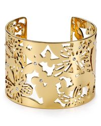 kate spade new york | Metallic All A Flutter Cuff | Lyst
