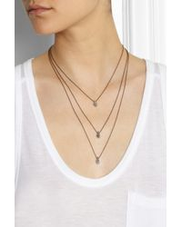 Isabel Marant - Metallic Pepito Goldtone Necklace - Lyst