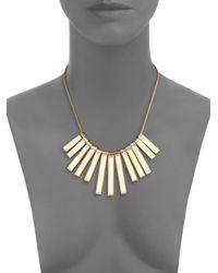 Marc By Marc Jacobs - Metallic Stick Bib Necklace for Men - Lyst