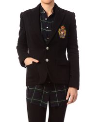 Polo Ralph Lauren | Black Blazer - V38Iocusb9202A00Pb | Lyst