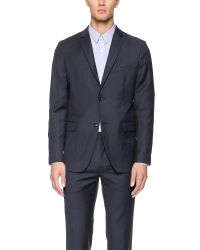 Theory - Blue Rodolf Boreal Jacket for Men - Lyst