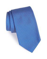 Robert Talbott - Blue 'best Of Class' Check Silk Tie for Men - Lyst