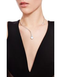 Efva Attling - Metallic Soft Tear Necklace - Lyst