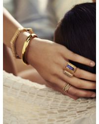 Maiyet - Metallic Geometric Stackable Ring - Lyst