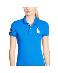 Ralph Lauren | Blue Us Open Big Pony Polo | Lyst