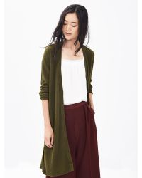 Banana Republic | Green Todd & Duncan Cashmere Long Cardigan | Lyst