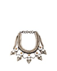 Erickson Beamon | White Weeping Angels Necklace | Lyst