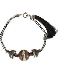 Lanvin | Multicolor Vita Necklace | Lyst