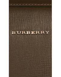Burberry - Green The Barrow Bag In London Leather for Men - Lyst