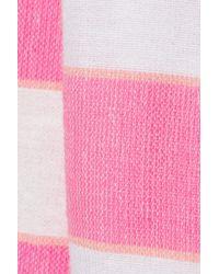 lemlem | White Bara Striped Cotton Blend Top | Lyst