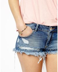 ASOS - Blue Limited Edition Coin Ribbon Bracelet - Lyst