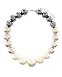 Hobbs | Gray Lou Pearl Necklace | Lyst