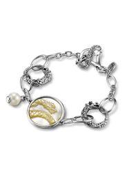 John Hardy | Metallic Dragon Link Bracelet | Lyst