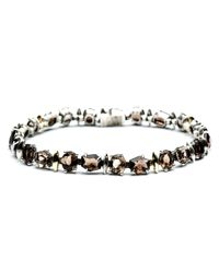 Alexis Bittar | Metallic Smoky Gold Marquis Delicate Tennis Bracelet You Might Also Like | Lyst