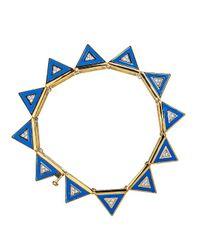 Noir Jewelry | Blue Marina Bracelet | Lyst