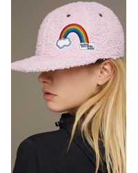 Maison Michel - Pink Hailey Hat - Lyst