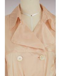 Prada - Natural Nylon Trench-coat - Lyst