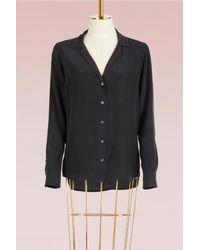 Equipment - Black Adalyn Shirt Long Sleeves - Lyst