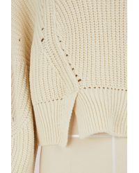 Isabel Marant - Natural Cotton And Wool Lane Sweater - Lyst