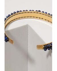 Isabel Marant - Blue Bracelet With Pearls - Lyst