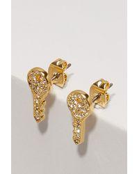 Marc Jacobs - Metallic Keys Earrings - Lyst