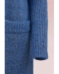 Acne - Blue Mohair Raya Coat - Lyst