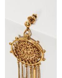 Chloé - Metallic Coins Earrings - Lyst