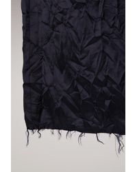 Maison Margiela - Blue Deconstructed Wool Jacket - Lyst