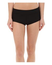Next By Athena - Black Good Karma Banded Shorts - Lyst