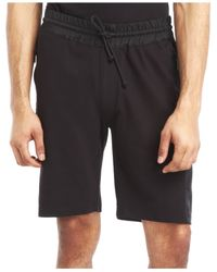 Kenneth Cole - Black Sweat Shorts for Men - Lyst