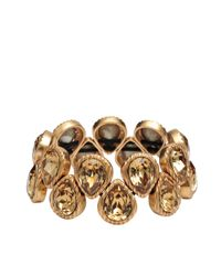 Philippe Audibert | Metallic Golden Drop Bracelet | Lyst