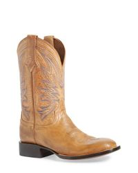 Lucchese | White 'aiden' Western Boot for Men | Lyst