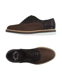 Santoni - Brown Lace-up Shoes for Men - Lyst
