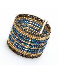 Nakamol | Blue Noor Cuff-cobalt | Lyst