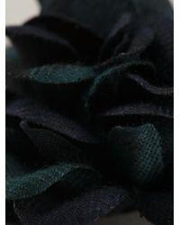 Lanvin - Green Flower Pin for Men - Lyst