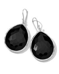 Ippolita | Black Onyx Teardrop Earrings | Lyst