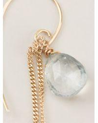 Uzerai Edits - Blue Topaz Earrings - Lyst