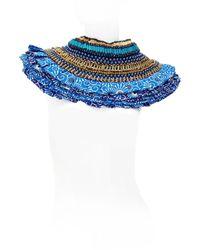 Anita Quansah London - Blue Lyra Necklace - Lyst