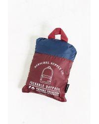 Herschel Supply Co. - Purple Packable Daypack Backpack for Men - Lyst