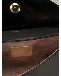 Vivienne Westwood - Black Monaco Leather Cross-Body Bag - Lyst