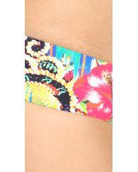 Red Carter - Multicolor Shangri La Reversible Bikini Bottoms - Lyst
