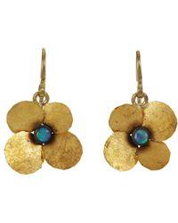 Judy Geib | Metallic Opal Hydrangea Earrings | Lyst