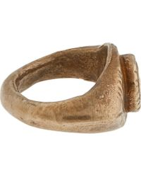 Wendy Nichol - Metallic Bronze Ancient Eye Ring - Lyst